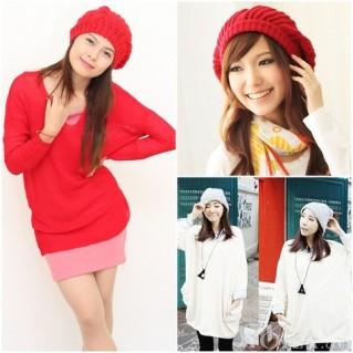 Mũ len bere thời trang Chút cá tính cho ngày lạnh - 1 - Thời Trang và Phụ Kiện