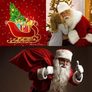 Ông già Noel giao quà tận nhà