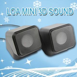 Loa Mini Speaker 3D Sound xoay 180 độ
