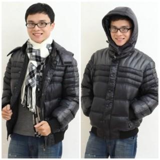 Ấm áp với áo khoác lót bông
