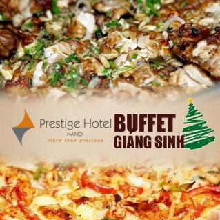 Buffet Giáng sinh 100 món Âu Á, Lẩu thập cẩm,Nướng