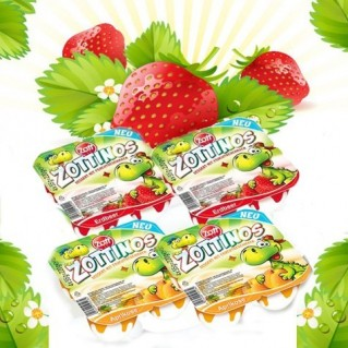 Combo 4 vỉ (16 hộp) sữa chua Zottinos của Đức - 1 - Sức khỏe và làm đẹp