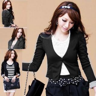Áo khoác tay lật, phong cách Hàn Quốc