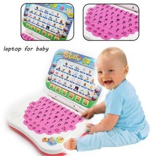 Máy đồ chơi kiểu dáng laptop cho bé