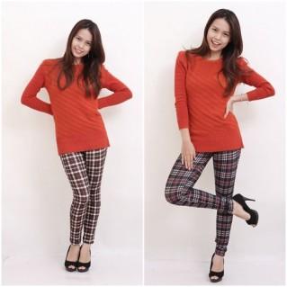 Combo 2 quần thun họa tiết thời trang - Thời Trang Nữ