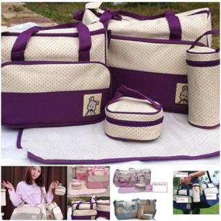 Bộ túi 5 món cao cấp cho mẹ và bé