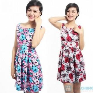 Đầm hoa chữ A nổi bật, duyên dáng - 1 - Thời Trang Nữ