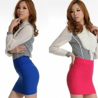 Váy mini juyp thời trang - 1 - Thời Trang Nữ
