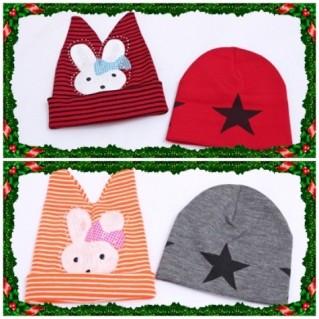 Combo mũ len giáng sinh cho mẹ và bé