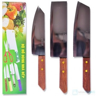 Bộ dao làm bếp 3 món