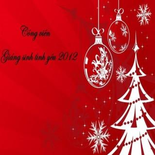 """CÔNG VIÊN """"GIÁNG SINH TÌNH YÊU"""" 2012"""