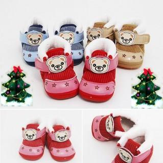 Giày cao cổ ấm áp - Thời Trang Trẻ Em