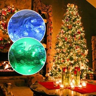 02 dây đèn LED trang trí Noel và ngày Tết