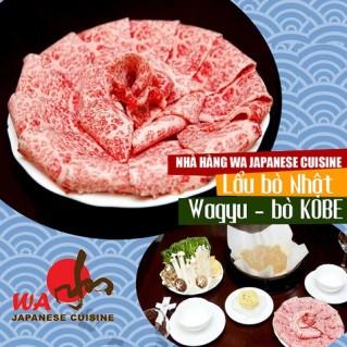 Lẩu bò Nhật Wagyu (Thịt bò KOBE)