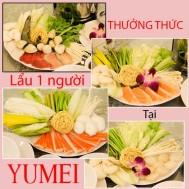 Lẩu 01 người thơm ngon tại Yu Mei