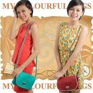 Túi đeo nhiều màu sắc
