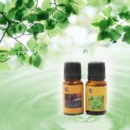 02 chai tinh dầu xông hoặc massage