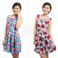 Đầm hoa chữ A nổi bật, duyên dáng - 2 - Thời Trang Nữ