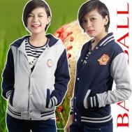 Áo khoác nữ bóng chày
