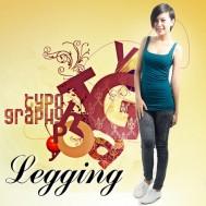 Quần legging dài giả jean cực chất - 1 - Thời Trang Nữ