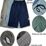 Quần lửng kaki nam túi hộp - 1 - Thời Trang Nam