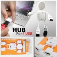 Đồ cắm USB 4 cổng HUB hình Robot