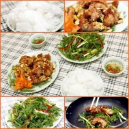 Set chả cá nhà hàng Tân Đô