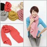 Ấm áp với khăn len móc thời trang - 1 - Thời Trang và Phụ Kiện - Thời Trang và Phụ Kiện
