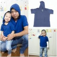 Combo 2 áo có mũ cho cha và con