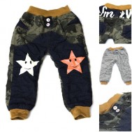 Quần jeans lót lông trẻ em