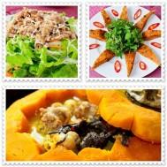 Set ăn Gà Hầm Bí Đỏ- Bí quyết ẩm thực tại Đèn Lồng