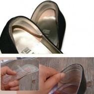Miếng lót gót sau giày có gân massage