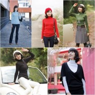 Combo 02 áo len cổ lọ thời trang - 1 - Thời Trang Nữ