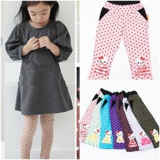 Combo 2 quần chấm bi 2 lớp cho bé gái - 1 - Đồ Chơi