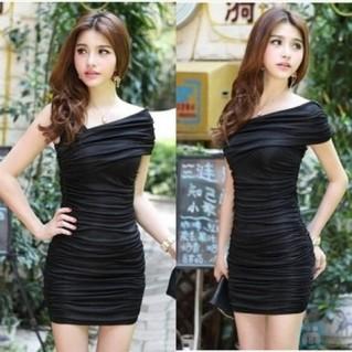Đầm nhún lệch vai gợi cảm - 2 - 3 - Thời Trang Nữ - 2 - 3 - Thời Trang Nữ - Thời Trang Nữ