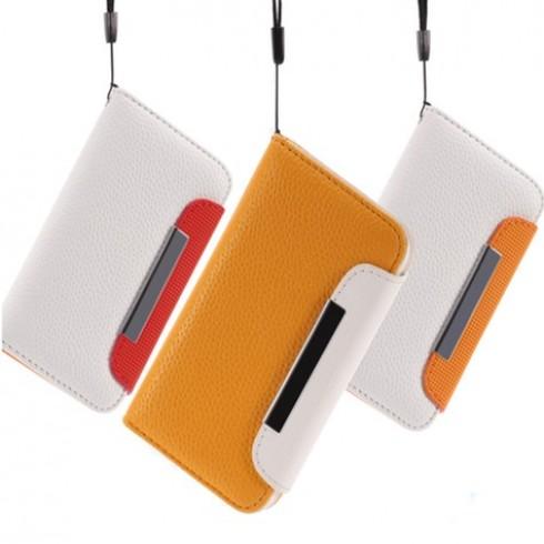 Bao da cho Iphone 4/4S - 2 - Đồ Dùng Điện