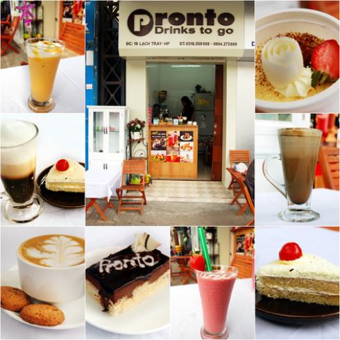 Voucher đồ uống và đồ ăn nhẹ tại Cafe Pronto