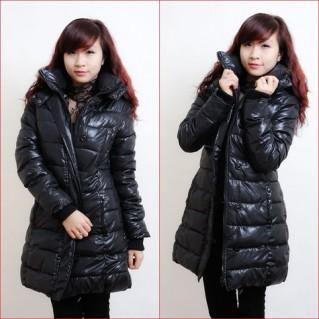 Eo thon gọn với áo khoác gió nữ xuất Hàn - 1 - Thời Trang Nữ