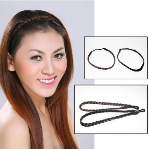 Combo 2 băng đô bím tóc cho bạn gái - 1 - Thời Trang và Phụ Kiện