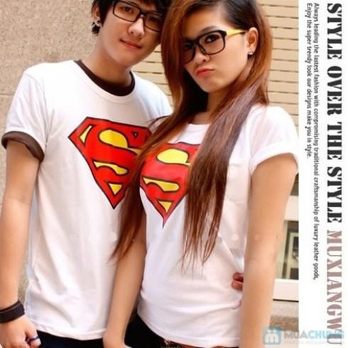 Áo đôi Superman
