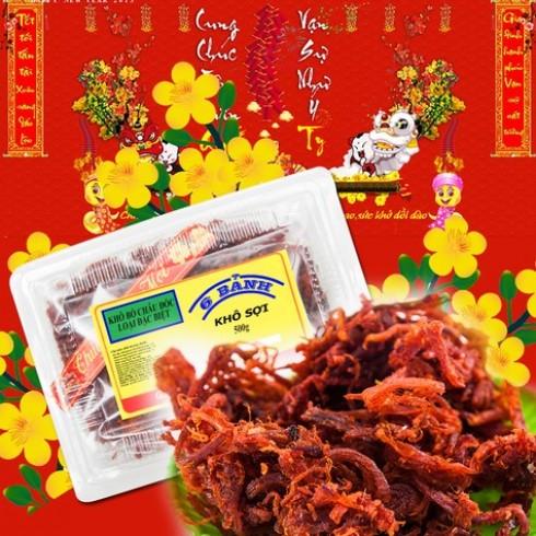 Khô bò sợi Châu Đốc - Sáu Bảnh