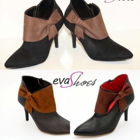 Cá tính, trẻ trung với Giầy Boot công sở Eva Shoes