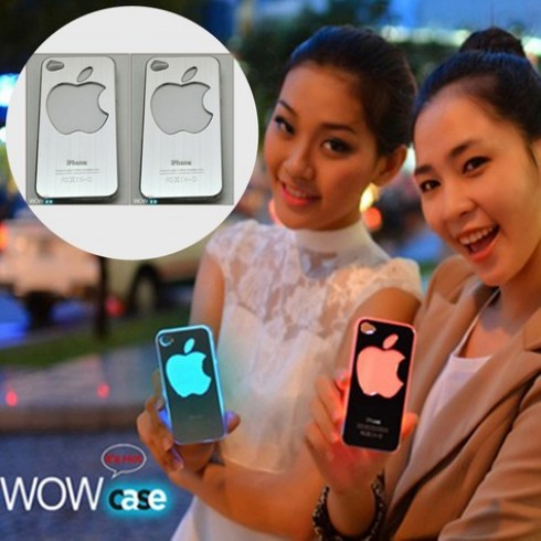 Vỏ iPhone 4/4S đèn Led WOW Case