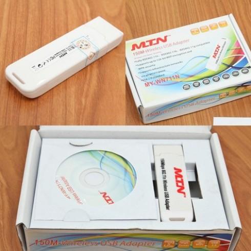 USB thu sóng wifi cho máy tính MTN MY - WN711N - 1 - Đồ Dùng Điện