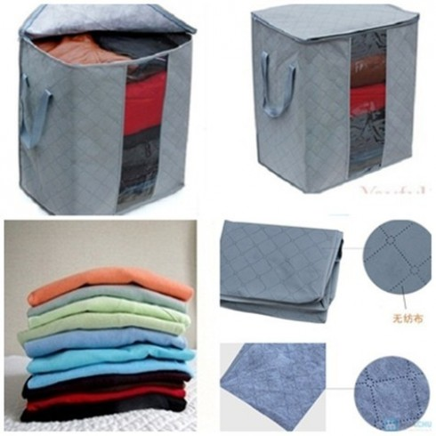 Túi vải vuông tiện lợi - 2 - Gia Dụng - Gia Dụng