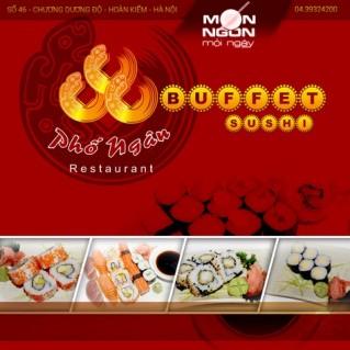 Thỏa thích thưởng thức Sushi ở Phố Ngân