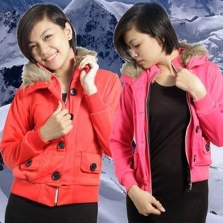 Áo khoác cổ lông phong cách Tây Âu - 2 - Thời Trang Nữ