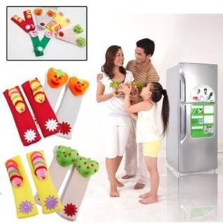 Combo 02 tay nắm cửa tủ lạnh