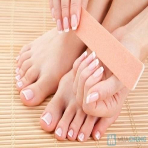 Chăm sóc tay hoặc chân kiểu Mỹ tại Jen Spa