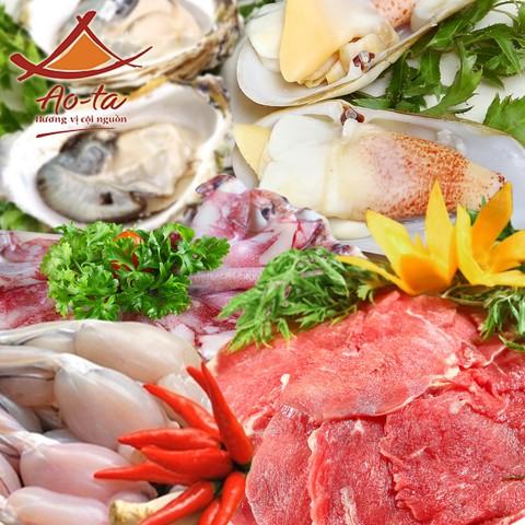 Buffet Lẩu Nướng Thạch Sanh tại Ao - ta Times City
